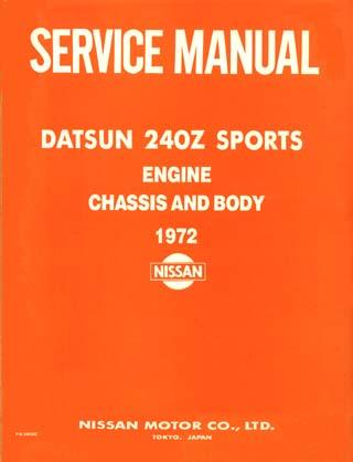 datsun 260z manual