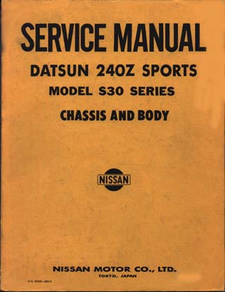nissan factory service manuals