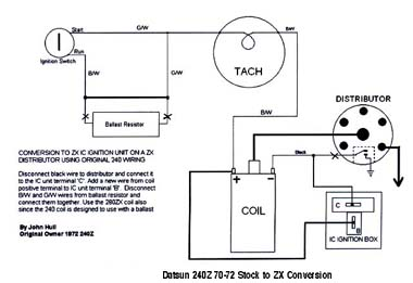 73 tach with 81 ignition? - nissan : datsun zcar forum ... datsun 620 wiring diagram datsun ignition wiring diagram